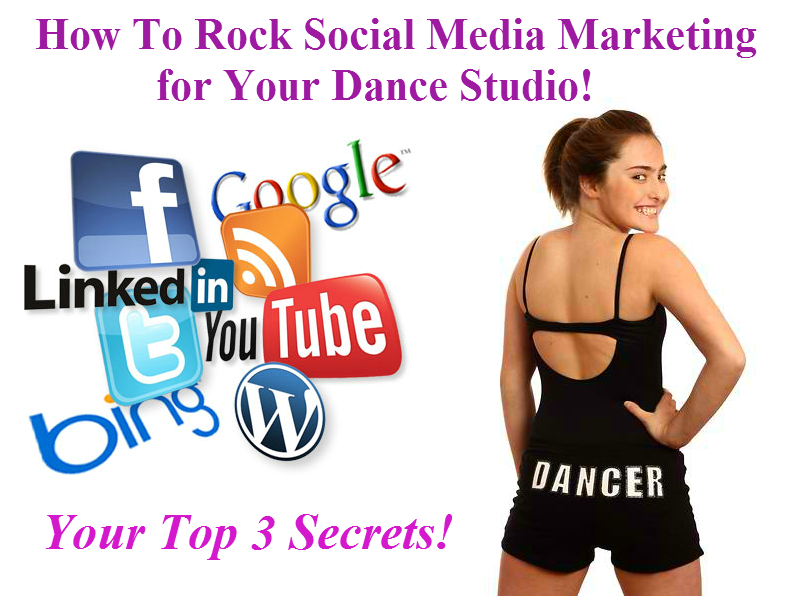 Dance Studio Social media blog